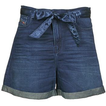 衣服 女士 短裤&百慕大短裤 Diesel 迪赛尔 DE-KAWAII 蓝色 / Fonce