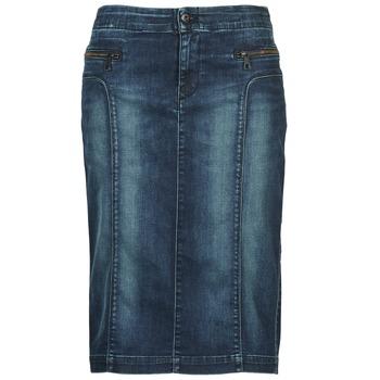 衣服 女士 半身裙 Diesel 迪赛尔 DE-TRENKER 蓝色