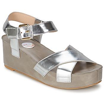 鞋子 女士 凉鞋 RAS NIOBE 银色