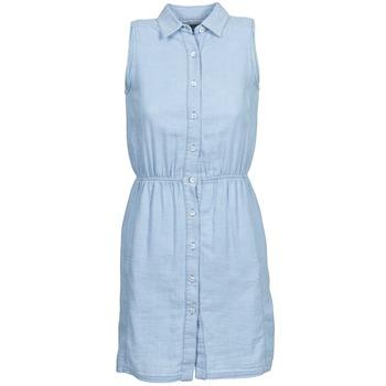 衣服 女士 短裙 Gant O. INDIGO JACQUARD 藍色