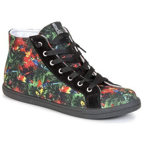 鞋子 女士 高帮鞋 Love Moschino JA15132G0KJE0000 黑色 / 多彩