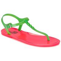 鞋子 女士 凉鞋 Love Moschino JA16381G0KJN180A 绿色 / 玫瑰色