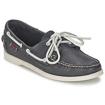 鞋子 女士 船鞋 Sebago 仕品高 DOCKSIDES 蓝色