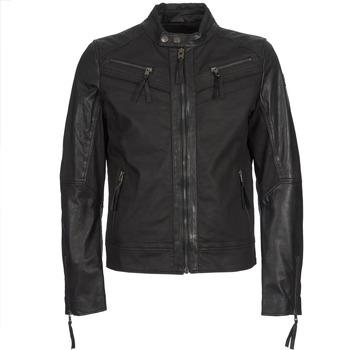 衣服 男士 皮夹克/ 人造皮革夹克 Redskins DRAKE 黑色