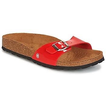鞋子 女士 休闲凉拖/沙滩鞋 Casual Attitude CHASTO 红色 / 黑色