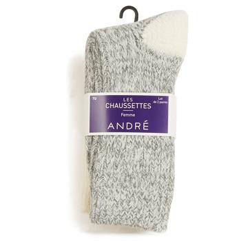 紡織配件 女士 短筒襪 André SNOW 多色