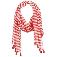 纺织配件 女士 围巾/披肩 André DOVA 白色 / 红色