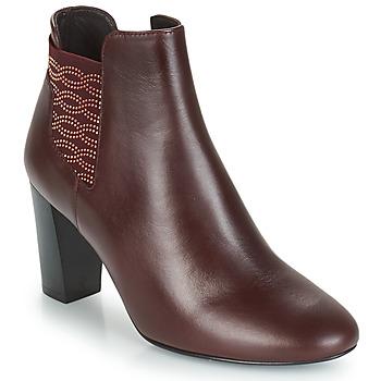 鞋子 女士 短靴 Bocage ELYSEE 波尔多红