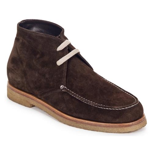 鞋子 女士 短筒靴 Swamp POLACCHINO SU 棕色 / Fonce