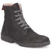 鞋子 女士 短筒靴 Swamp STIVALETTO LANA 黑色