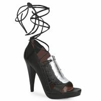 鞋子 女士 凉鞋 Sigerson Morrison 西格森莫里森 STRUZZO 黑色 / 银色