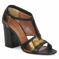 鞋子 女士 凉鞋 Sigerson Morrison 西格森莫里森 STRUZZO 黑色 / 古銅色