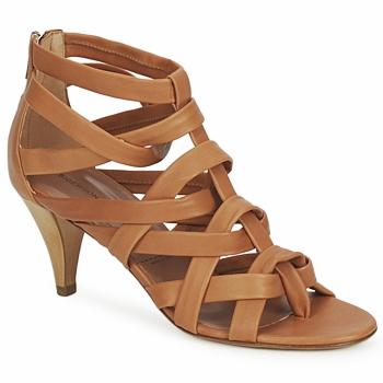 鞋子 女士 凉鞋 Sigerson Morrison 西格森莫里森 CARNICIA 茶色