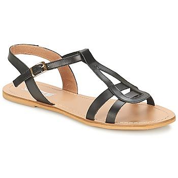 鞋子 女士 涼鞋 So Size DURAN 黑色