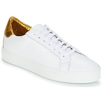 鞋子 女士 球鞋基本款 SAS EMY 103 KEEP 白色 / 金色