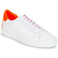 鞋子 女士 球鞋基本款 SAS EMY 103 KEEP 白色 / 橙色