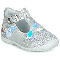 鞋子 女孩 平底鞋 GBB MERTONE 银灰色
