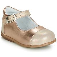 鞋子 女孩 平底鞋 GBB BELISTO 玫瑰色 / 金色