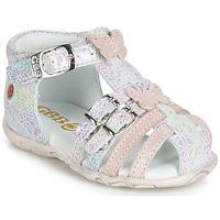 鞋子 女孩 凉鞋 GBB RIVIERA 玫瑰色