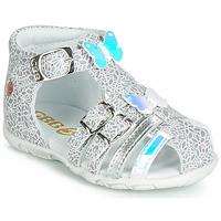鞋子 女孩 涼鞋 GBB RIVIERA 銀灰色