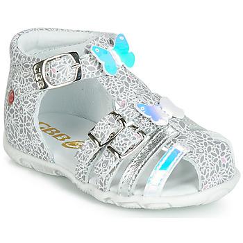 鞋子 女孩 凉鞋 GBB RIVIERA 银灰色
