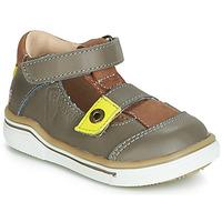 鞋子 男孩 凉鞋 GBB PORRO 灰色 / 黄色