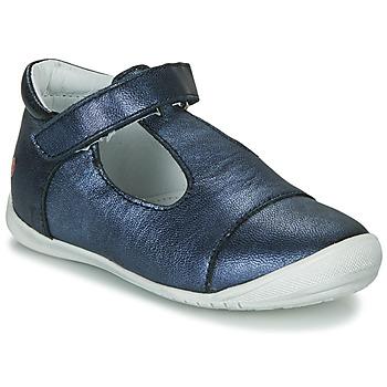 鞋子 女孩 平底鞋 GBB MERCA 藍色