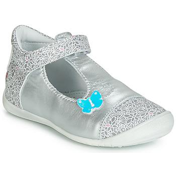 鞋子 女孩 平底鞋 GBB MERCA 银灰色