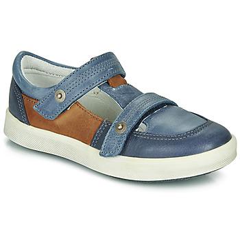 鞋子 男孩 球鞋基本款 GBB VARNO 蓝色