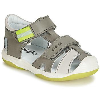 鞋子 男孩 凉鞋 GBB BERTO 灰色