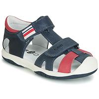 鞋子 男孩 凉鞋 GBB BERTO 海蓝色 / 红色