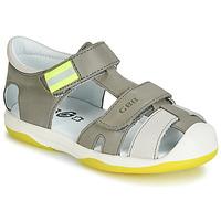 鞋子 男孩 凉鞋 GBB BERTO 灰色 / 黄色
