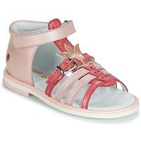 鞋子 女孩 凉鞋 GBB CARETTE 玫瑰色