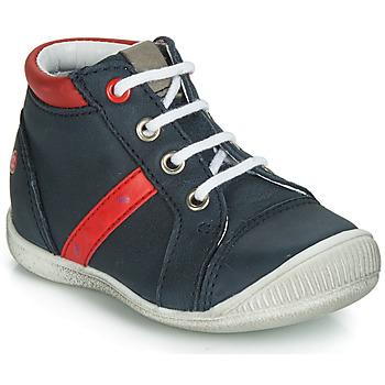 鞋子 男孩 短筒靴 GBB TARAVI 海蓝色 / 红色