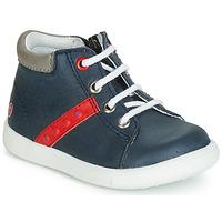 鞋子 男孩 高幫鞋 GBB FOLLIO 海藍色 / 紅色