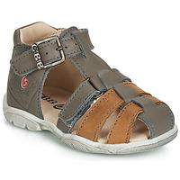 鞋子 男孩 凉鞋 GBB PRIGENT 灰色