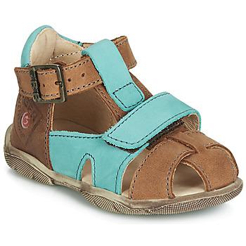 鞋子 男孩 凉鞋 GBB SEROLO 棕色