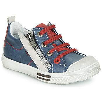 鞋子 男孩 球鞋基本款 GBB STELLIO 藍色 / 紅色