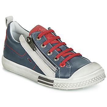 鞋子 男孩 球鞋基本款 GBB STELLIO 海蓝色 / 红色
