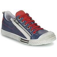鞋子 男孩 球鞋基本款 GBB STELLIO 海藍色 / 紅色