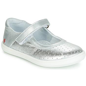 鞋子 女孩 平底鞋 GBB PLACIDA 银灰色