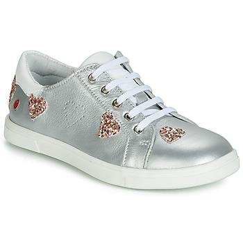 鞋子 女孩 球鞋基本款 GBB ASTOLA 银灰色