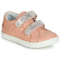 鞋子 女孩 球鞋基本款 GBB BALOTA 玫瑰色 / 银灰色