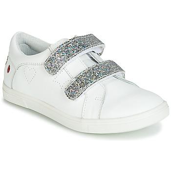 鞋子 女孩 球鞋基本款 GBB BALOTA 白色 / 银灰色