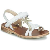 鞋子 女孩 涼鞋 GBB SAPELA 白色 / 金色