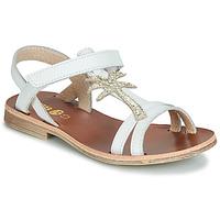 鞋子 女孩 凉鞋 GBB SAPELA 白色 / 金色