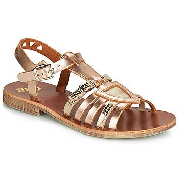 鞋子 女孩 涼鞋 GBB FANNI 古銅色