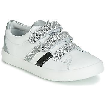 鞋子 女孩 球鞋基本款 GBB MADO 白色 / 银灰色