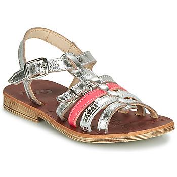 鞋子 女孩 凉鞋 GBB BANGKOK 银灰色 / 玫瑰色
