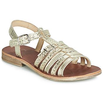 鞋子 女孩 涼鞋 GBB BANGKOK 金色